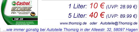 CASTROL Edge FST 5w-30 günstig bei Autoteile Thomzig in Hagen